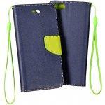 Pouzdro Book Lenovo C2 K10a40 zelené modré