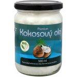 Allnature Bio premium kokosový olej 500 ml