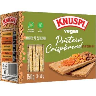 Prom-In Knuspi Vegan Protein Crispbread 150 g, dýně