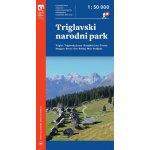 Triglavski narodni park turistická mapa