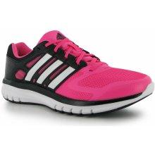 Adidas Duramo Elite Ladies Running Shoes SolPink/Wht/Blk