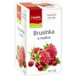 Apotheke Brusinka a malina čaj 20 x 2 g