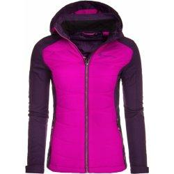 Dámská bunda a kabát Alpine Pro Perka růžová fialová dec4d1097f