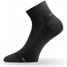 Lasting WDL Merino ponožky pro běžné nošení černá