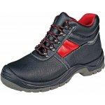 Bezpečnostní kotníková obuv SC-03-003 ankle S3, stříbrné reflexní doplňky
