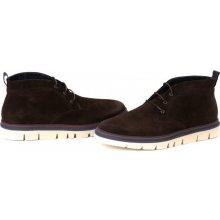 Gant pánská kotníčková obuv Scott hnědé