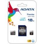 ADATA SDHC 16GB UHS-I ASDH16GUICL10-R
