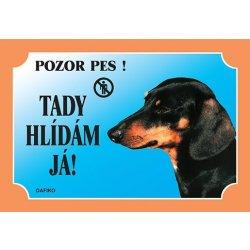 Dafiko Tabulka Jezevčík krátkosrstý černý od 26 Kč - Heureka.cz 3349dd0371