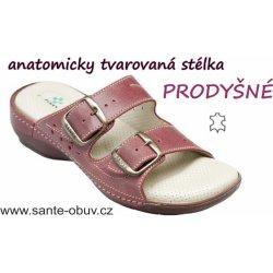 94e85c47589 Santé N 124 3 39 zdravotní pantofle vínové od 648 Kč - Heureka.cz