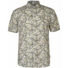 Pierre Cardin All Over Print Linen Shirt Mens 6ef567f6e3