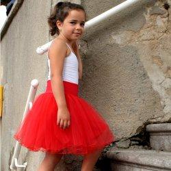 Dětská tylová sukně se spodničkou červená alternativy - Heureka.cz 10689fdfc0