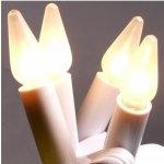 Žárovka Felicia bílá E-10 14V 0,1A pro vánoční soupravu - řetěz svíčky