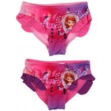 Sun City dívčí plavky kalhotky Princezna Sofie fialové