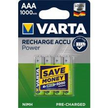 Varta Power AAA 1000 mAh 4ks 5703301404