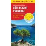 Francie Azurové pobřeží, Provence mapa :T