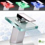 Jago koupelnová baterie LED, IRIS, KUAR018