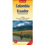 Map Colombia Ecuador