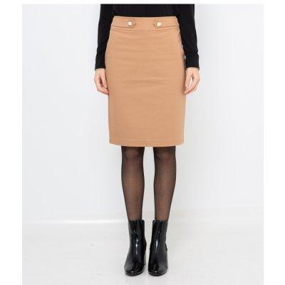 Camaieu pouzdrová sukně béžová