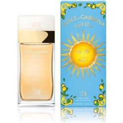 acd843185 Dolce & Gabbana Light Blue Sun toaletní voda dámská 100 ml od 1 422 ...