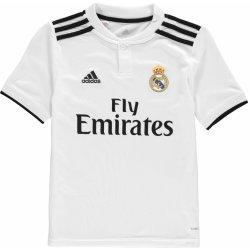 c82935298 adidas Real Madrid Home Shirt 2018 2019 Junior White/Black