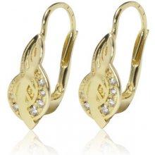 Soliter dámské zlaté náušnice 239100658