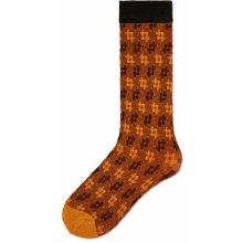 Skhoop dámské zimní podkolenky Hot Stripe rezavá oranžová. od 650 Kč ·  Happy socks dámské hnědé podkolenky Lovisa e1ba96fd9d