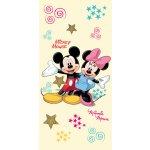 Jerry Fabrics Osuška Mickey and Minnie 2015 75x150 cm