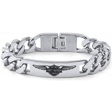 Náramek ocelový Harley Davidson KMMB62603