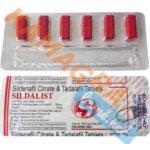 Sildalis 120 mg 1 balení 6 ks
