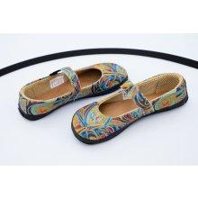 Ahinsa shoes Balerínka Sundara duhová