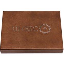 Česká mincovna Dřevěná etue na platinové mince UNESCO 476 g