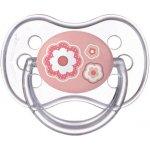 Canpol Babies Newborn baby šidítko silikon třešinka růžová