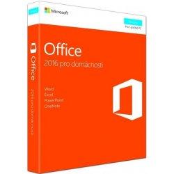 Microsoft Office 2016 pro domácnosti CZ 79G-04723