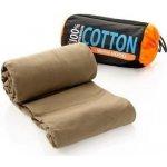 SeaToSummit Premium cotton - Travel Mummy with hood and box foot