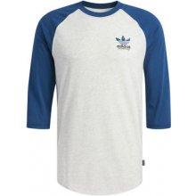 9368aa7633 Adidas Trička s dlouhými rukávy Tričko Claremont Raglan Bílá