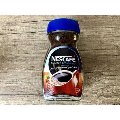Nescafé Classic bez kofeinu instantní Káva 100 g