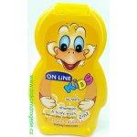On Line Kids šampon 2v1 Exotic koktejl 250 ml