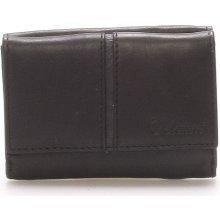 Delami Kožená černá peněženka 9386 černá