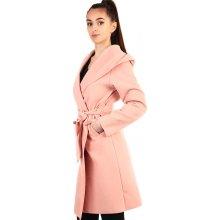 Glara dámský kabát s kapucí d787273b16f