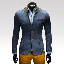 Ombre Clothing sako Jacques jeansové