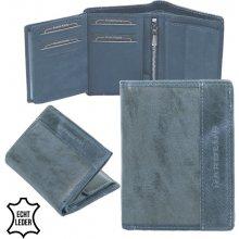 Harold's peněženka pánská kožená modrá F11810-blau