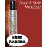 Omeisan Color & Style Mousse tužidlo (měděné mahagonové) 200 ml