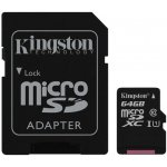 Kingston microSDXC 64GB UHS-I U1 SDC10G2/64GB