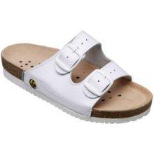 Santé ESD N 22 10 E pánské zdravotní pantofle bílé 47520fef8b