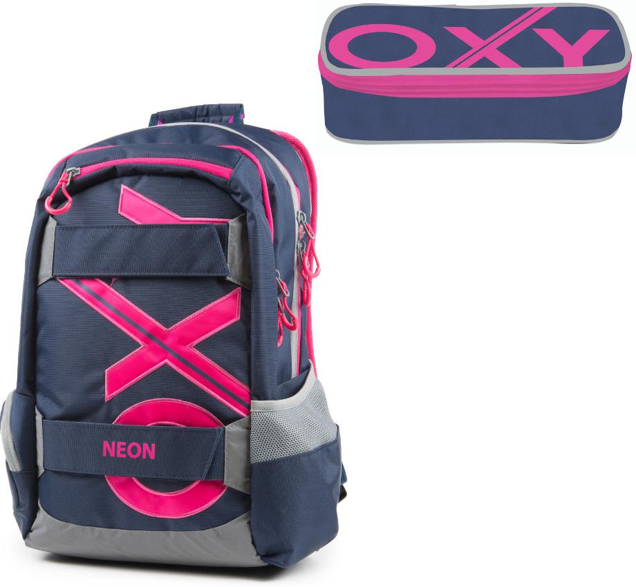 Karton P+P batoh Oxy Sport modrá Line růžová od 1 185 Kč - Heureka.cz 4328027297
