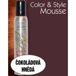Omeisan Color & Style Mousse tužidlo (čokoládově hnědé) 200 ml