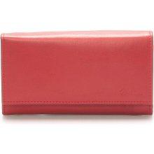 Delami Stylová červená dámská peněženka Vippe červená