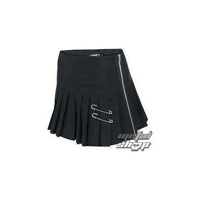 Poizen Industries sukně Killstar černá