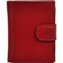 Hellix Dámská kožená Peněženka P 1553 červená
