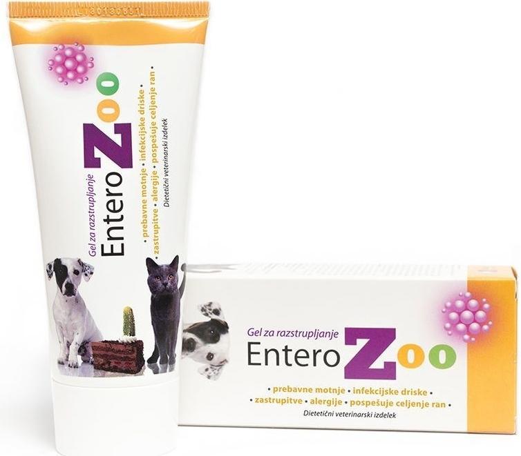 Entero zoo gel - rychle zastaví průjem a je taky první pomocí při otravách